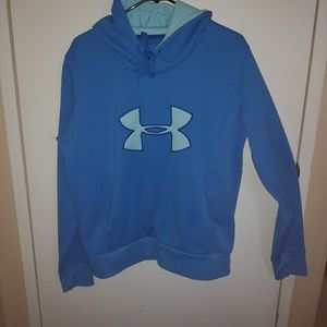 Men's pull over hoodie snall Under Armour